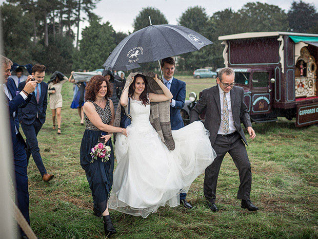 A Fun Cotswold Wedding At Giffords Circus