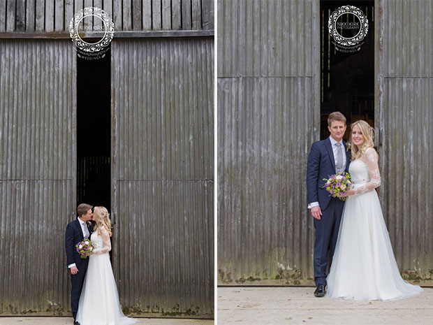 Real wedding at the Barn at Upcote