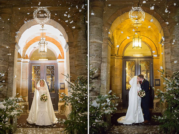 Real wedding at Wyck Hill House