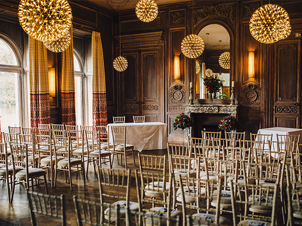 Real wedding at Cowley Manor