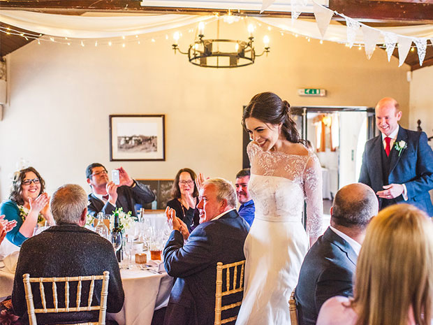 Real wedding at The Green Dragon Inn