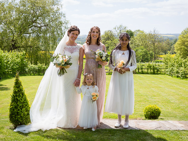 Real wedding: An English/Indian fusion wedding at Merriscourt in ...