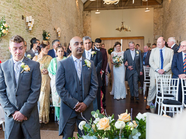 An English/Indian fusion wedding at Merriscourt