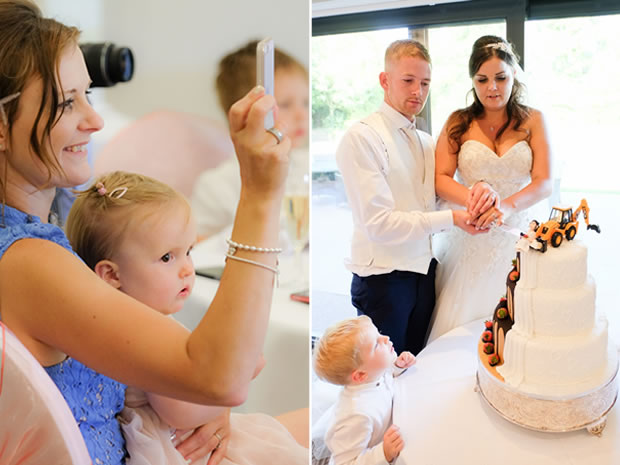 A relaxed and colourful celebration at Stonehouse Court