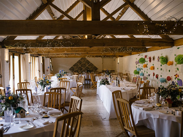 Real wedding at Curradine Barns