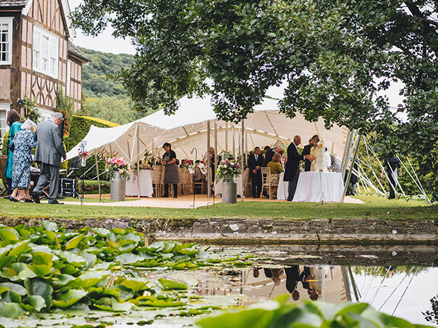 Real wedding at Brinsop Court