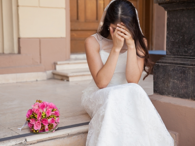From picking the wrong bouquet to meeting a monk, SoGlosWeddings has discovered 11 things that could bring a bride bad luck.