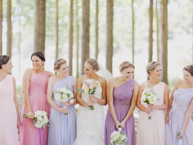 Elegant, feminine and stylish, pastel themes make a lovely choice for weddings.