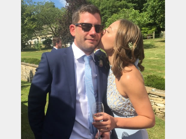 Harry and Meg will be celebrating their summer 2016 wedding at Batsford Arboretum.