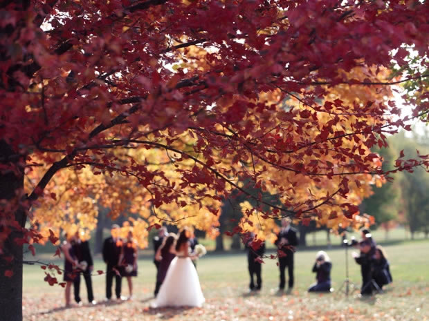 Add some seasonal magic to your autumn wedding.