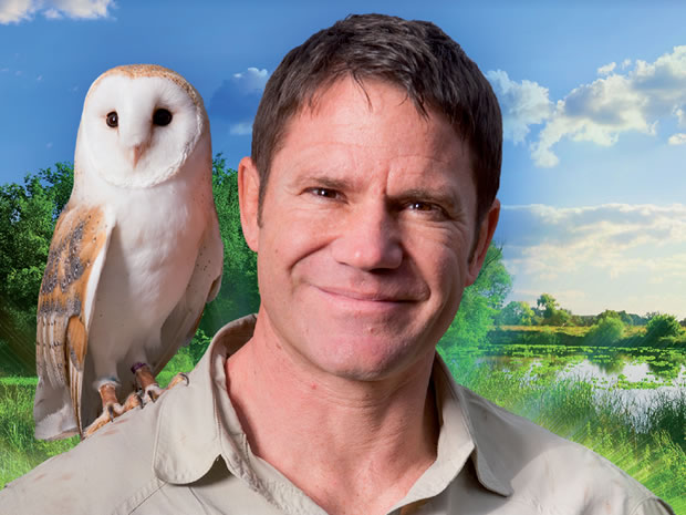 Steve Backshall fans enjoyed a wild surprise at his show in Cheltenham, in a romantic proposal.