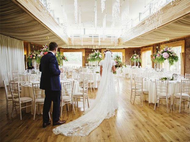 Discover what awaits with a wedding at Elmore Court. Image © Gemma Williams Photography