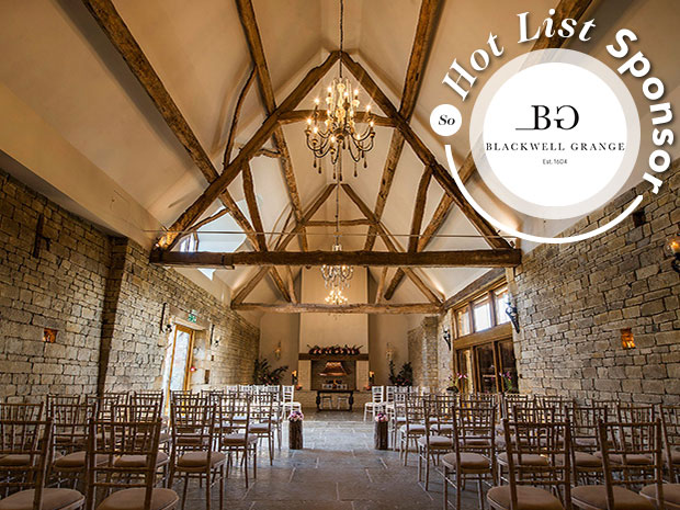 Feast your eyes on our round up of 15 of the prettiest Cotswold barn venues, including Blackwell Grange. Image © Paul Willetts Photography.