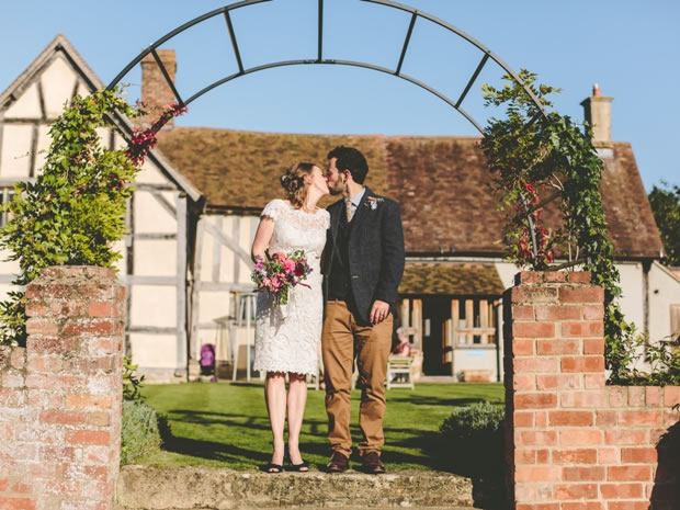 Get a taste of the Cotswolds with Eckington Manor's wedding breakfast banquet.