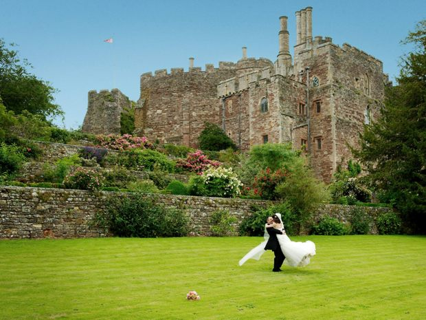 Berkeley Castle is just one of Gloucestershire's amazing fairy tale venues.