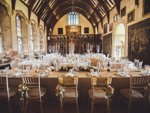 Soak up the venue's period features when hosting your day at Berkeley Castle.