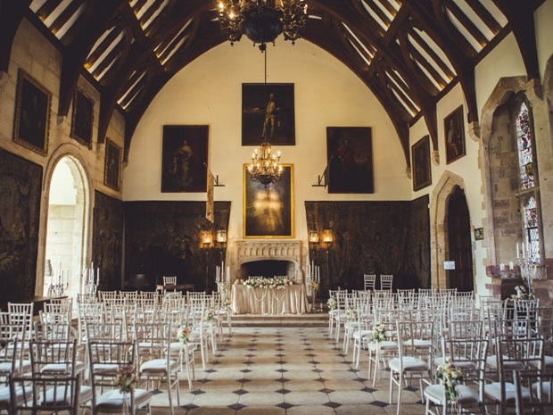 Say 'I do' in the historic setting of the venue's Great Hall.