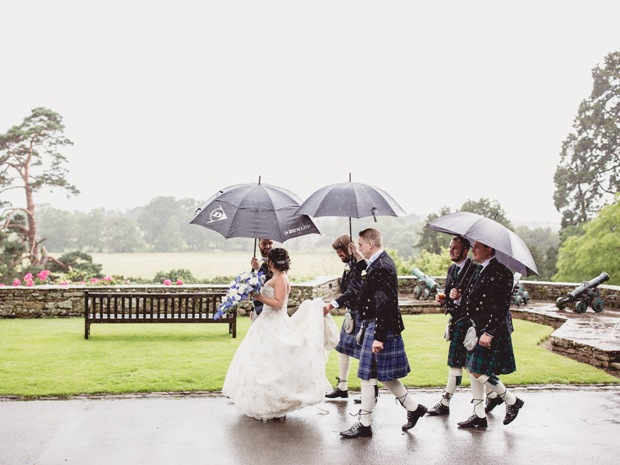 Come rain or shine, the venue offers a truly magical setting for weddings.