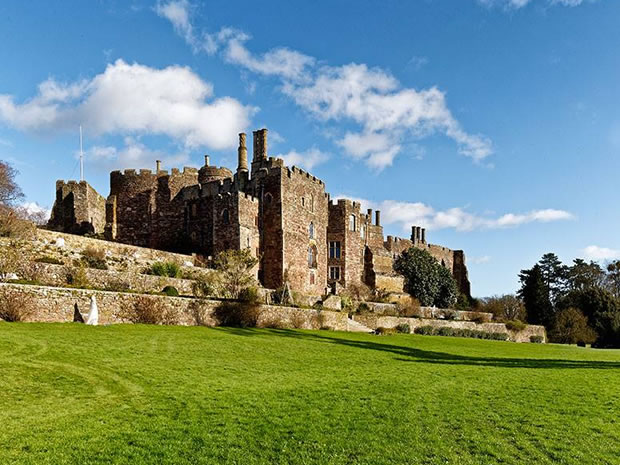 Berkeley Castle provides a magnificent historical setting in Gloucestershire.