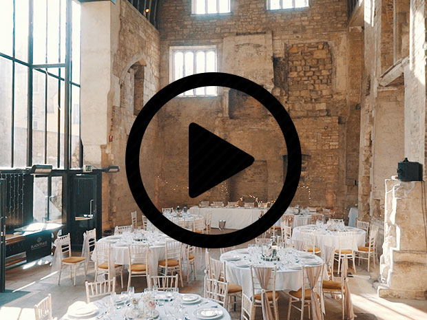 Check out SoGlosWeddings' showcase video of the gorgeous Blackfriars Priory.