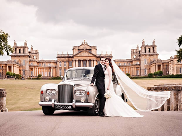 Blenheim Palace provides a picture perfect wedding setting in Oxfordshire.