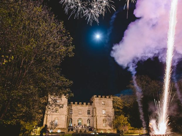Clearwell Castle has been named the best wedding venue in the UK.