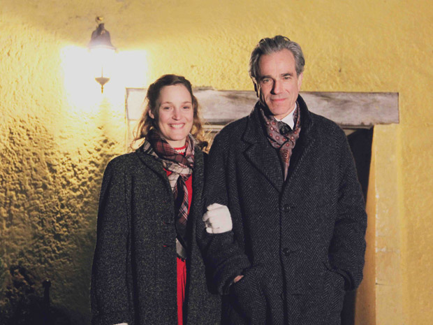 Daniel Day-Lewis has been filming in the Cotswolds.