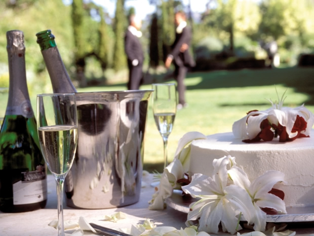 Raise a glass on your special day, with the gardens perfect for drinks receptions.