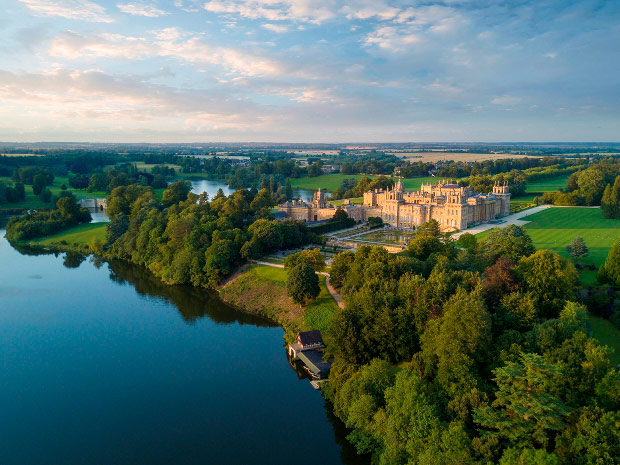Blenheim Palace is just one of the impressive Cotswold venues fit for a royal celebration.