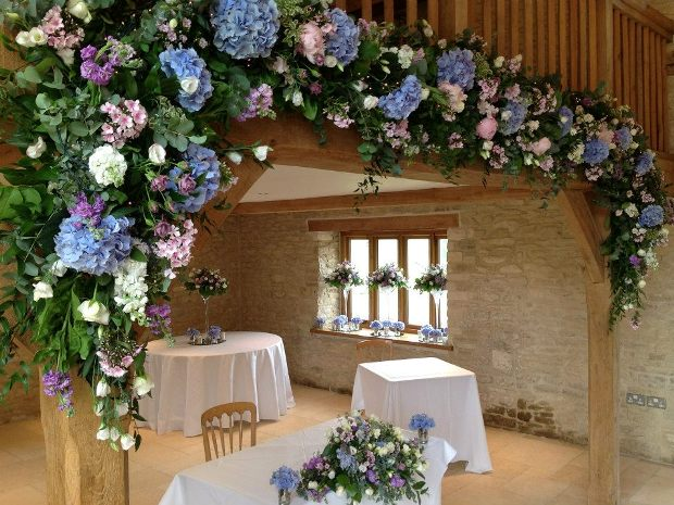 Kingscote Barn is the perfect setting for your winter wonderland wedding.