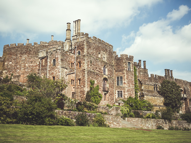 Explore the stunning Berkeley Castle at its Wedding Inspiration Day. © Adam Drake Photography.