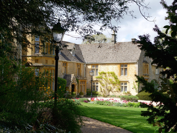 Explore beautiful Cotswold wedding venue Lords of the Manor this autumn.