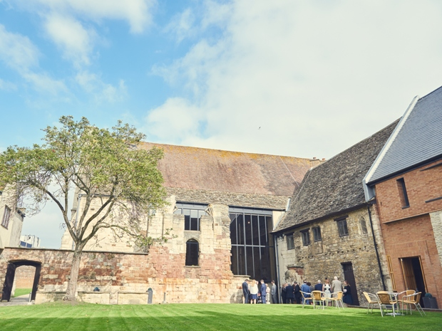 Don't miss your chance to see Blackfriars Priory in all its wedding glory.