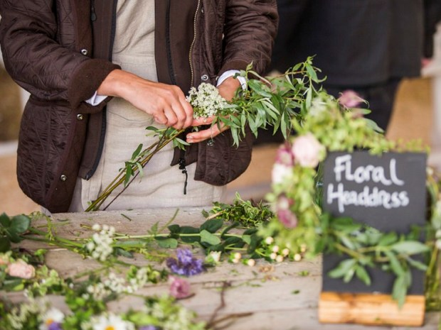 Get your bridesmaids together for tipples and florals at Dallesford Farm this August