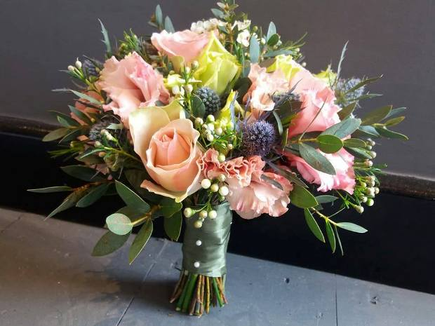 The Blooming Bears specialises in beautiful wedding day floral arrangements.