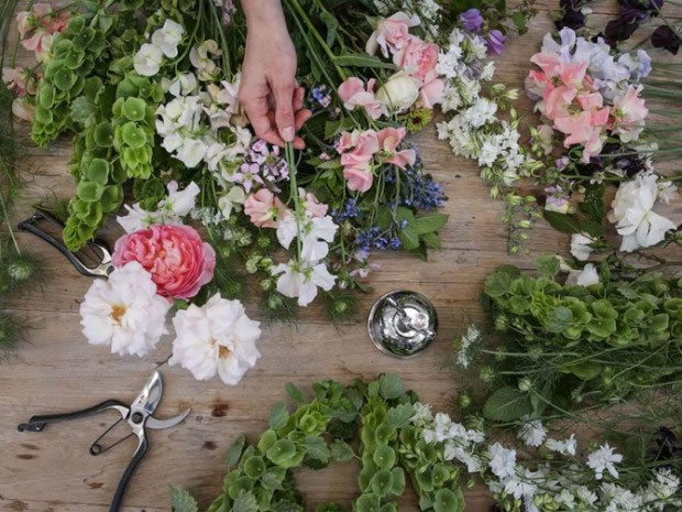 Create your own vintage bouquet at Daylesford Farm