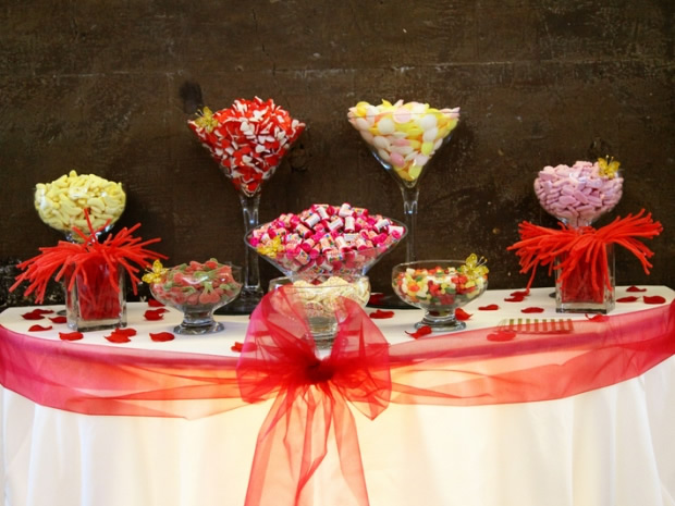 Guests will love the chance to tuck into a selection of sweets on your big day.