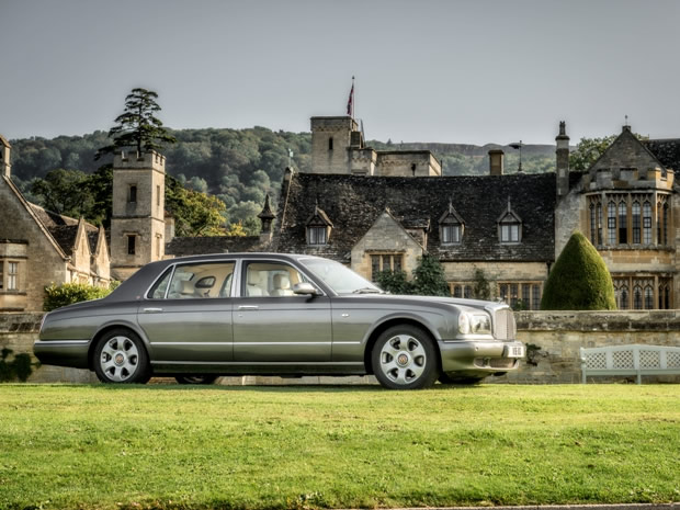 Arrive in style on your big day in Azure's chauffeur-driven Bentley Arnage.