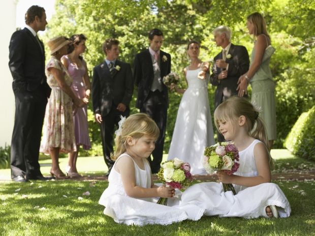 With bouncy castles, picnics and nap rooms, keep the kids happy at your wedding with a few hints from our hot list.