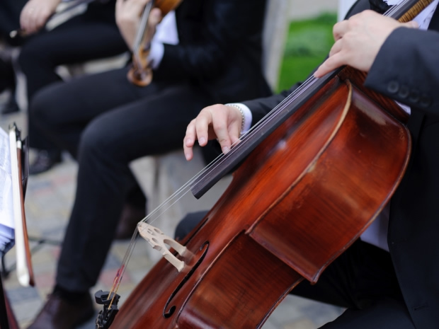 There are endless ways to keep your wedding guests entertained, with live music being a traditional favourite.