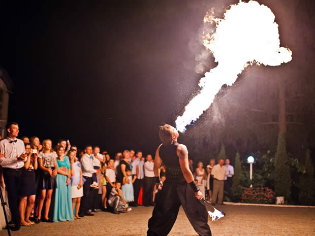From a magician to a bouncy castle, what wedding entertainment should you have?