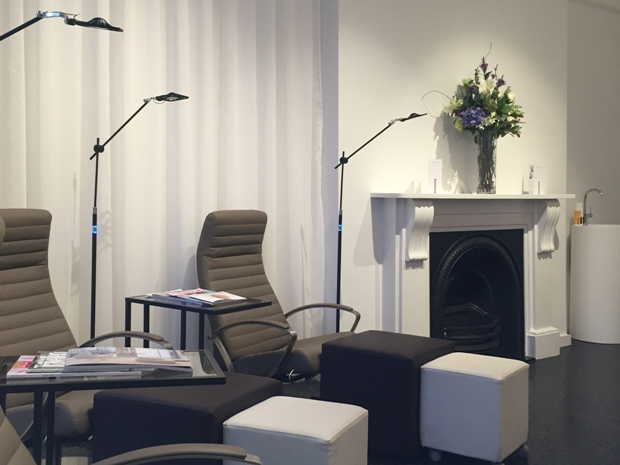Expect a luxury pamper experience at Margaret Dabbs Clinic Cheltenham.