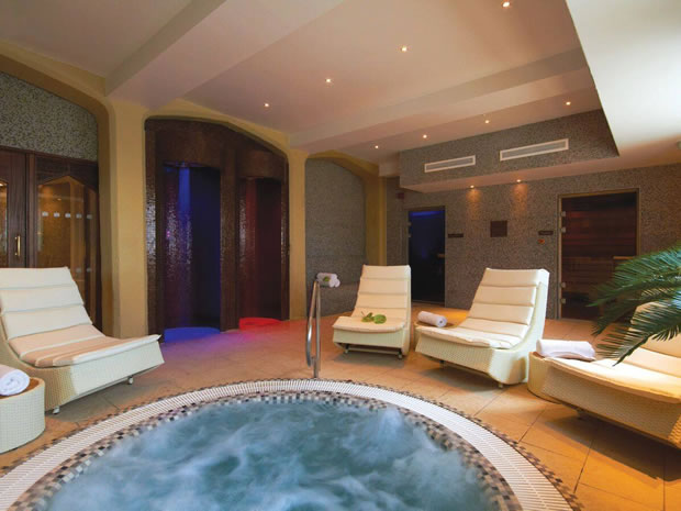 Enjoy a relaxing retreat within Ellenborough Park's tranquil spa.