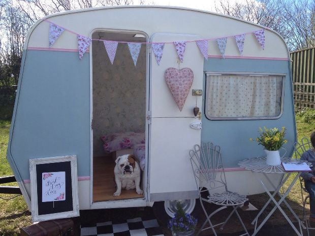 Hiring of the vintage photo booth sadly doesn't include the couple's dog Florence!