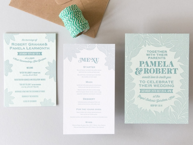 Discover letterpress wedding stationery galore at Cherry Press' new Cotswold boutique.