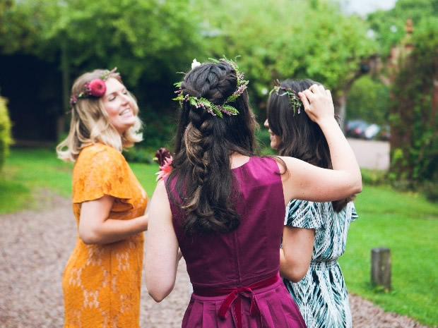 Enjoy a relaxed floral-filled hen do at Eckington Manor. Image © Bride and Bloom.