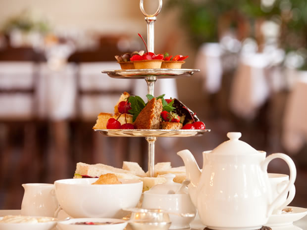 Budding brides can indulge with a delicious afternoon tea in Gloucestershire.
