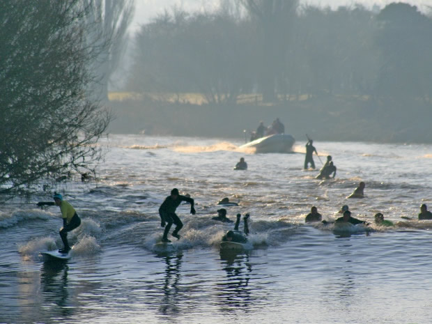 Boasting a completely unique stag or hen do story, take to the cold waters of the Severn Bore.