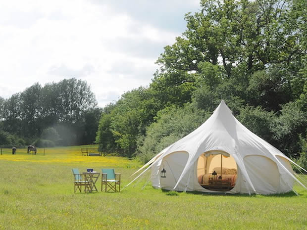 With room for football, feasts, barbeques and more, Wild Wood Bluebell proves a popular choice for stag and hen parties.