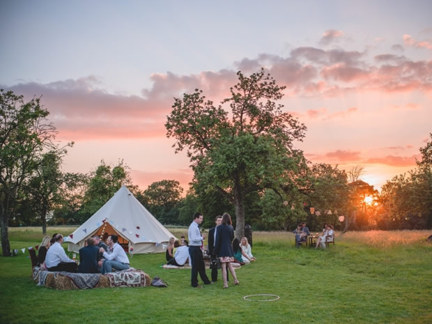 Glouestershire's stunning Elmore Courtis a perfect venue for a festival-themed wedding. © Lionel Taplin, Steal the Day Photography